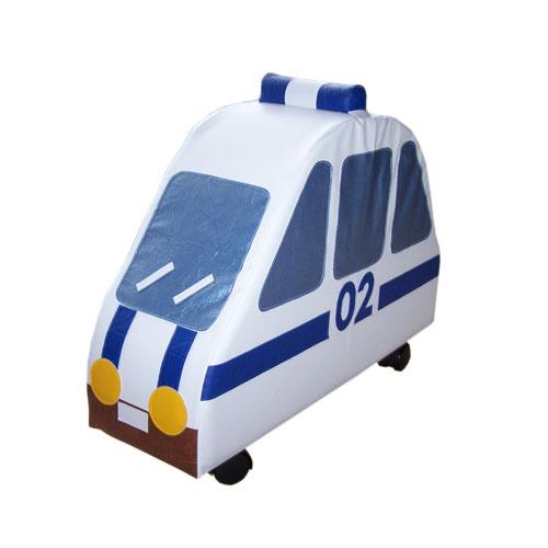 мягкий игровой модуль на колёсах трамвай уверена многие согласятся