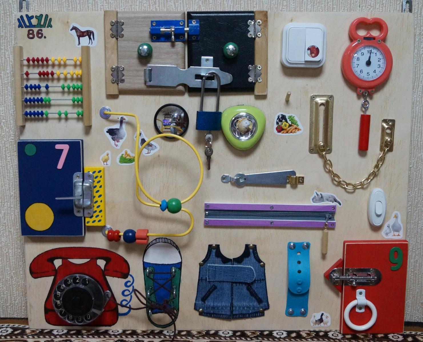 Игрушки для развития мелкой моторики рук ребенка 64