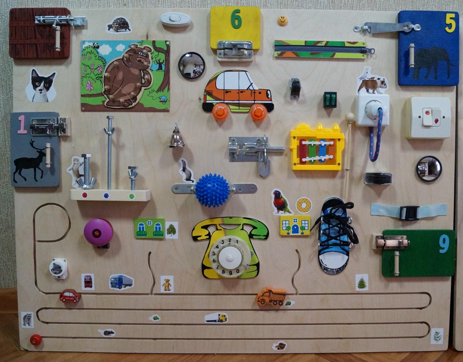 Игрушки для развития мелкой моторики рук ребенка 53